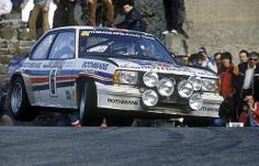 1983 MONTE CARLO RALLY - Opel Ascona 400. Entrant: Rothmans Opel Rally Team. Drivers: Henri Toivonen / Fred Gallagher. Place: 6th 0/a.