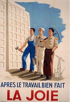 Affiche de Pétain - Arrêt sur images Dieselpunk, Betty Boop, Vintage Travel, World War Ii, Caricature, Slogan, Books To Read, Images, 1