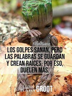 Spanish Phrases, Spanish Quotes, Gods Love Quotes, True Quotes, Amor Quotes, Spanish Inspirational Quotes, Quotes En Espanol, Positive Phrases, Baby Groot