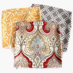 Love the Kravet Paisley Latika fabric. New pillows in family...
