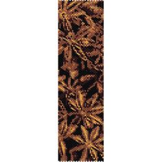 Anise Spice Peyote Bead Pattern, Bracelet Cuff, Bookmark, Seed Beading Pattern Miyuki Delica Size 11 Beads - PDF Instant Download by SmartArtsSupply on Etsy