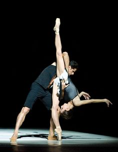 Isabella Boylston and Marcelo Gomes, American Ballet Theatre - Photographer Gene Schiavone