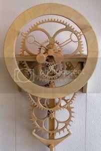 Wooden Clock Plans, Wooden Gear Clock, Wooden Gears, Steampunk Clock, Steampunk House, 3d Cnc, Cool Clocks, Woodworking Projects Plans, Diy Woodworking