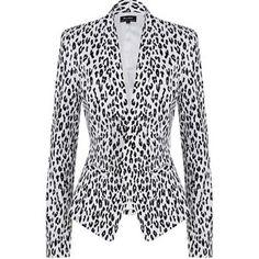 Yves Leopard Jacket