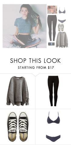 """""""Talia"""" by maddie-hatt3r ❤ liked on Polyvore featuring Dorothy Perkins, Converse, Charlotte Russe and Mophie"""