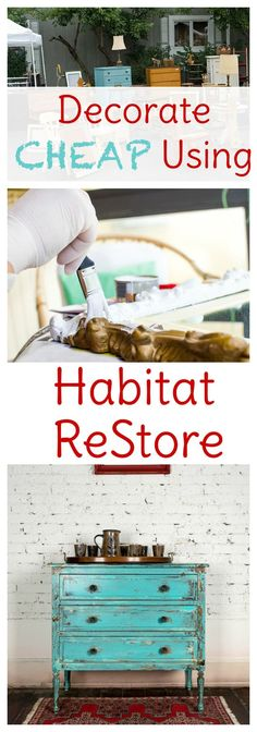 If you're revamping your home decor on a budget, be sure to check out your local Habitat for Humanity ReStore. Great finds for cheap! >>> Check this useful article by going to the link at the image. #modernhomedecor
