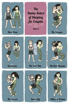 The Kama Sutra of Sleeping for Couples Part 2