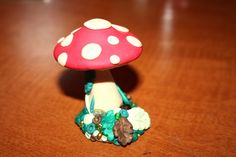 The Earth is our Teacher: Tutorial Thursday - Polymer Fairy Toadstools