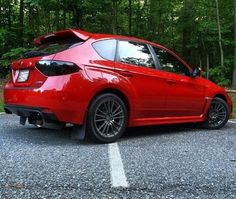 Red Subaru