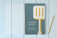 Kitchen Notes Day Planner, Notebook, or Address Book by Heritage and Joy at minted.com