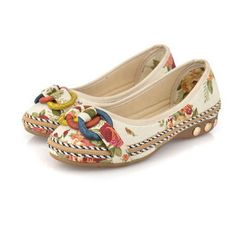 Women Casual Flat Loafers Round Toe Flats Colorful Round Toe Loafers - US$17.63