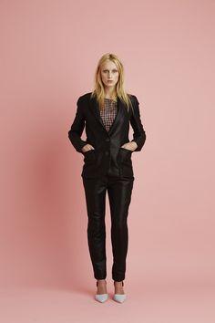 Ingrid Starnes SS15 // Webster Jacket. Lucy Checkers Top. Webster Pants