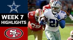Cowboys vs. 49ers | NFL Week 7 Game Highlights - YouTube