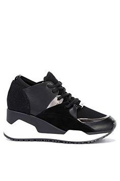 Gigi Black, Oxfords Femme, Noir (Black), 36 EUShoe The Bear