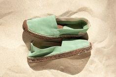 Carmen / Suede / Green           Also available in Blue / Rose / Khaki / Tierra