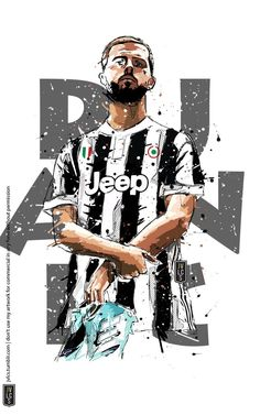 Juventus Fc, Juventus Players, Football Art, Turin, Character Drawing, Soccer, Sports, Icons, Drawings