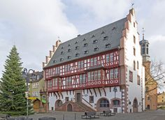 Hanau : The German goldsmith's house in the old town