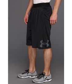 Under Armour UA EZ Mon-Knee Short Black/Black - 6pm.com