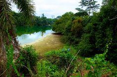 Lac Bleu ~ Mouila, Ngounié province, Gabon....