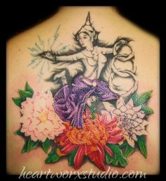 This comes close to the back piece I want only done well and with a wood nymph or floral fairey
