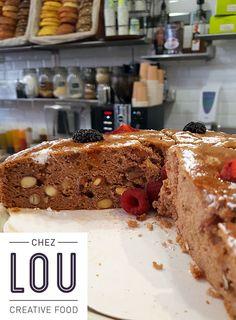 Pour les intolérants au gluten, mais aussi pour tous les gourmands, Lou propose aujourd'hui un petit délice amandes et fruits rouges, sans gluten donc.  L'été commence bien :-)