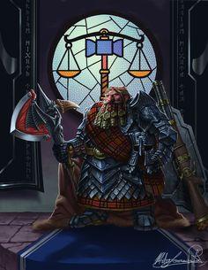 Pious Lightbringer by MatesLaurentiu on DeviantArt Dnd Dwarf, Vikings, Dwarven City, Warcraft Legion, Medieval, Character Art, Character Design, Fantasy Dwarf, My Fantasy World