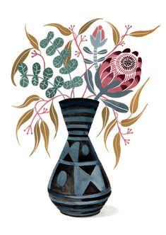 Scandinavian Wall Decor, Protea Flower, Australian Native Flowers, Woodland Nursery Decor, Animal Nursery, Silver Dollar, Printable Wall Art, Flower Art, Wall Art Prints