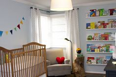 Baby Liam's nursery! My friend, Amy's design, from Dandelion Paperweight and HelloBee blogs!