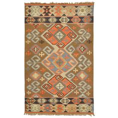 Cosima Indoor/ Outdoor Poly Kilim (5' x 8')