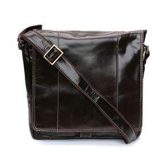 Contrast messenger bag