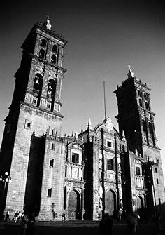 Cathedral of Puebla, Mexico.  Beautiful!