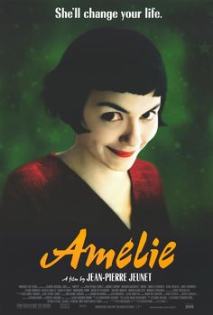 Amelie (2001)  -  starring Audrey Tautou, Mathieu Kassovitz, Rufus, Lorelia Cravotta and Serge merlin.  It is a romantic comedy with Audrey Tautou and Mathieu Kassovitz.  The lovely, yet incredibly shy Amelie Poulain discovers a hidden treasure in her apartment and makes it her mission to reunite it with its owner.  When she is successful she makes it her mission to champion life's underdogs.