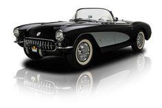1957 Chevrolet Corvette Black