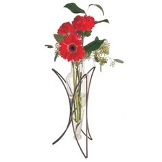 Iron Crescent Vase makes a great centerpiece or simply a vase for those surprise bouquets! $26.99 from furnishyourlife.athome.com