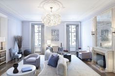 StreetEasy: The Apthorp at 390 West End Ave. in Upper West Side - Sales, Rentals, Floorplans #livingroom #homedecor #NYC #dreamhome #luxuryhome #luxury #Manhattan