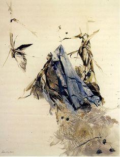 Andrew Wyeth (1917 — 2009, USA) Blue Jacket. 1954 dry brush.