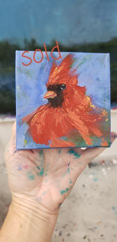 This handsome guy is flying up to Rhode Island, but I get to enjoy his company till the New Year. I will miss him but am thankful to my wonderful clients who support my art. . . #cardinal #redbird #cardinalofinstagram #birdsofinstagram #lauriehenryart Georgia Usa, Rhode Island, Abstract Landscape, Watercolor Tattoo, Original Paintings, Guy, My Arts, Thankful, Handsome
