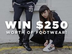 Enter to ein $250 worth of shoes…