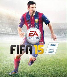 deze voorkant van het spel FIFA 15 is ook bedacht door iemand