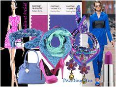 Kleurentrends voorjaar 2014 - dazzling blue and radiant orchid