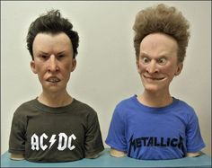 Just when you thought these two couldn't get any uglier... (Beavis & Butthead by Kevin Kirkpatrick. January 2012) #Beavis #Butthead #MTV #fanart
