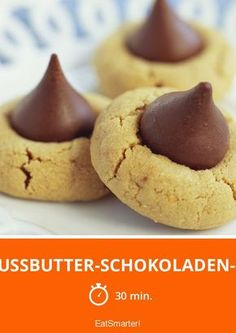 Erdnussbutter-Schokoladen-Kekse - smarter - Zeit: 30 Min. | eatsmarter.de