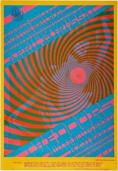 The Doors Avalon Ballroom Family Dog 1967 Poster Art by Victor Moscoso Poster Art, Kunst Poster, Dog Poster, Vintage Concert Posters, Vintage Posters, Victor Moscoso, Concert Rock, Pop Art Images, Psychedelic Rock