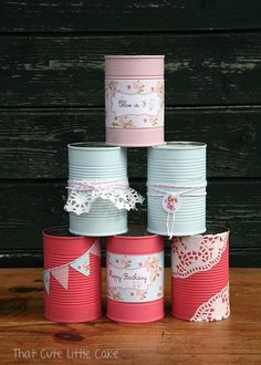 Tins, easy to make yourself