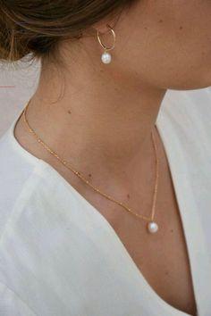Simple Jewelry, Dainty Jewelry, Cute Jewelry, Pearl Jewelry, Jewelry Accessories, Bullet Jewelry, Geek Jewelry, Gothic Jewelry, Jewelry Necklaces