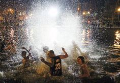 Ohio State officials in talks about Mirror Lake jump