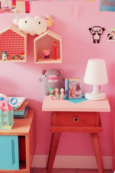 ideas para decorar los dormitorios infantiles con mucho color