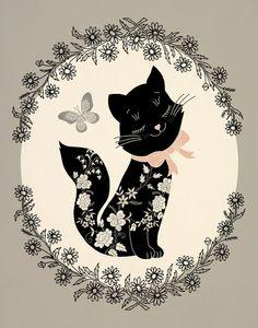 SophistiCat Art Print