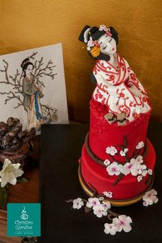 "Cake Art! ~ ""Madama Butterfly""  ~ all cake and all edible"
