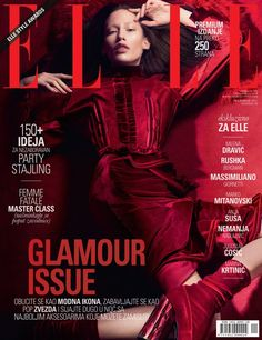 Marina Krtinic for Elle Serbia by Marko Vulevic